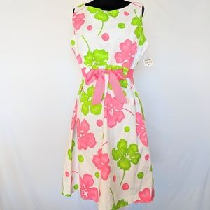 NWT Jessica Howard Floral Dress